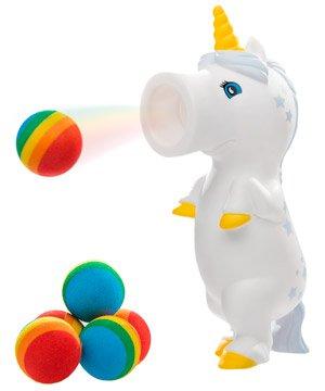 Hog Wild White Starred Unicorn Popper