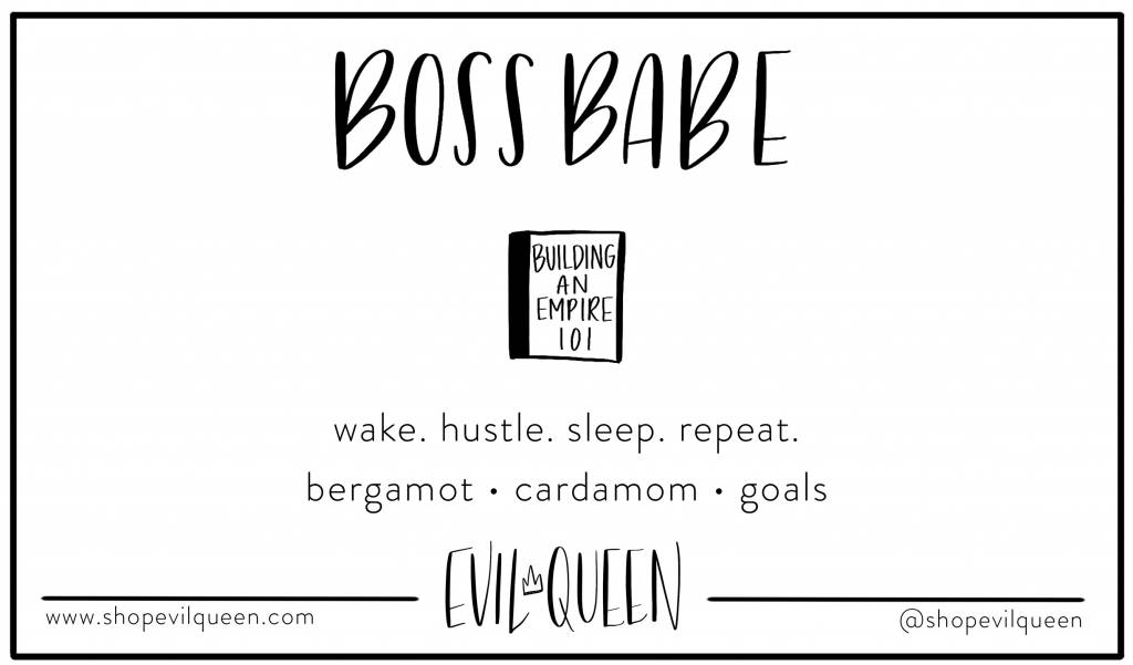 Evil Queen Boss Babe - Candle