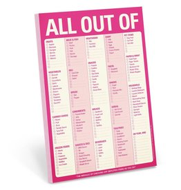 Knock Knock All Out of Pad Pink With Magnet PInk
