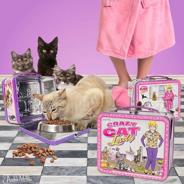 Lunchbox - Crazy Cat Lady