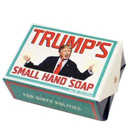 The Unemployed Philosophers Guild Trump's Small Hand Soap- Think Clean Soaps