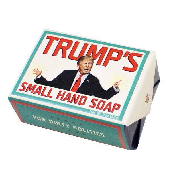 The Unemployed Philosophers Guild Trump's Small Hand Soap