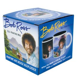 Unemployed Philosopher Bob Ross Mug
