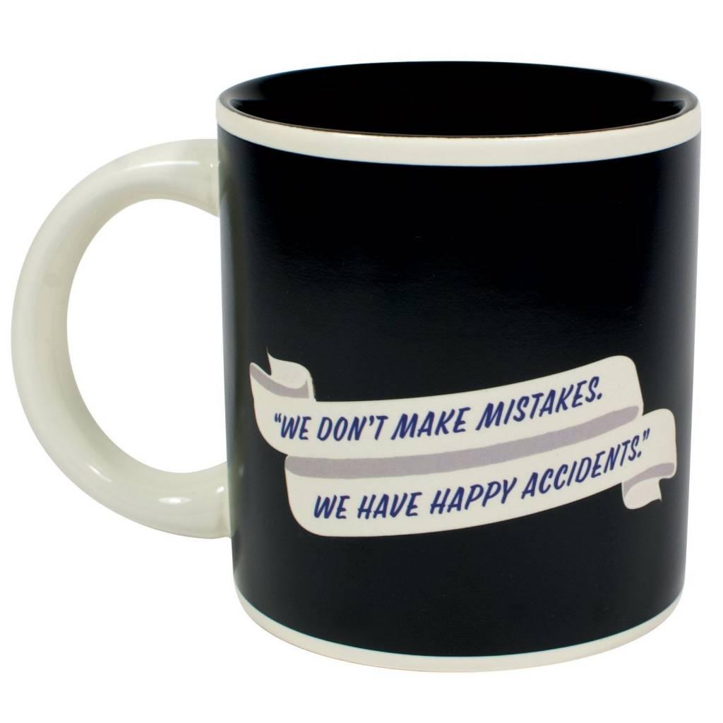 Unemployed Philosopher Bob Ross Mug