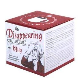 Unemployed Philosopher Disappearing Civil Liberties Mug
