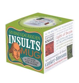 The Unemployed Philosophers Guild Insults Shakespeare Mug