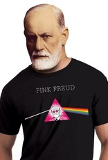 The Unemployed Philosophers Guild Pink Freud Unisex T-Shirt