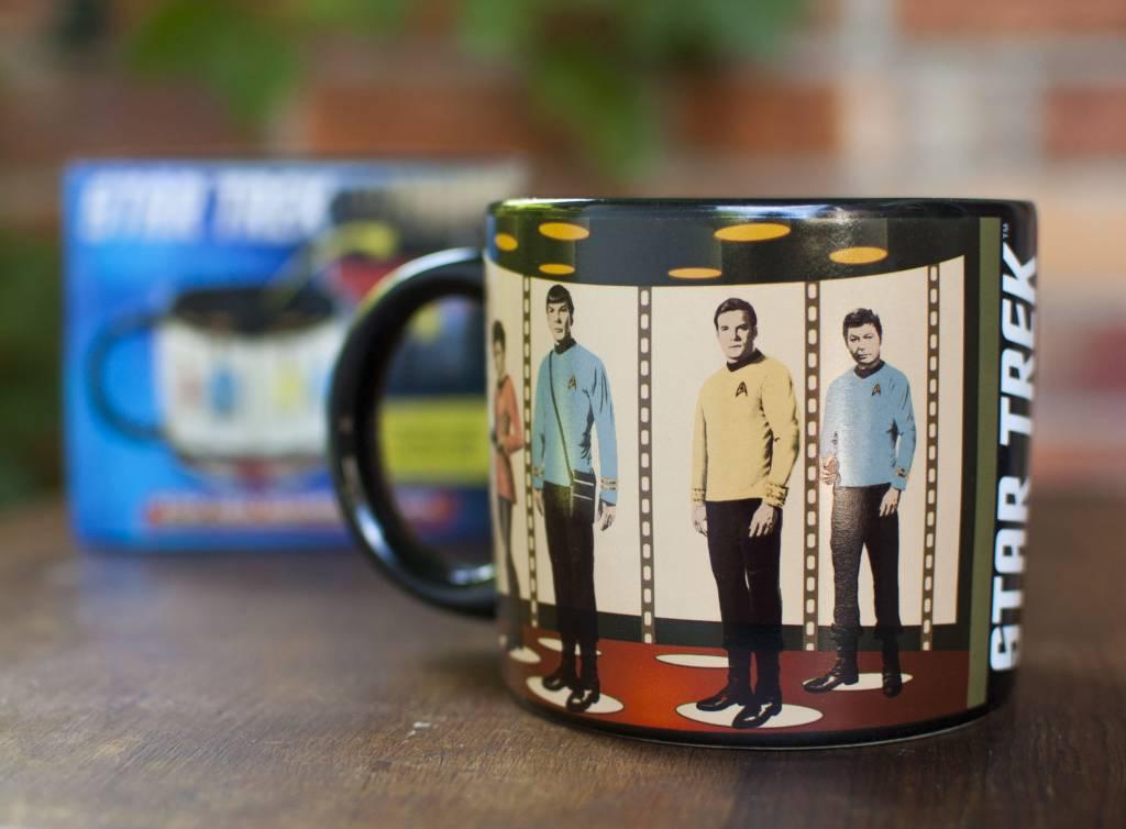 Unemployed Philosopher Star Trek Transporter Mug