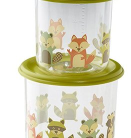 ORE Fox Good Lunch Snack Containers