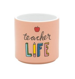 About Face Designs Teacher Life Planter