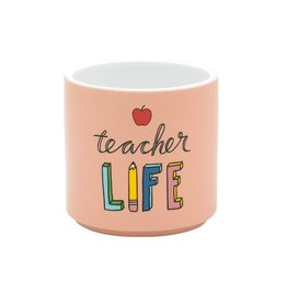 About Face Designs Teacher Life Planter DNR