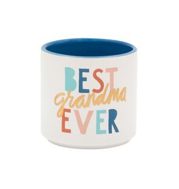 About Face Designs Best Grandma Ever Planter