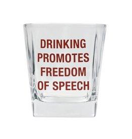 Freedom of Speech - Rocks Glass