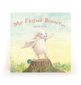 JellyCat, Inc. My Friend Bunny - Book
