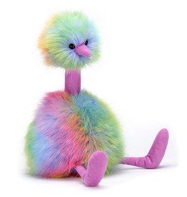 JellyCat, Inc. Pom Pom Bird Medium - Rainbow
