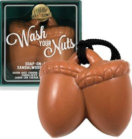 NPW Wash Your Nuts - Soap on a Rope
