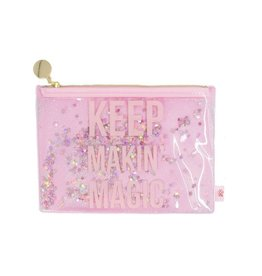 DCI (Decor Craft Inc.) Keep Makin' Magic - Glitter Pouch