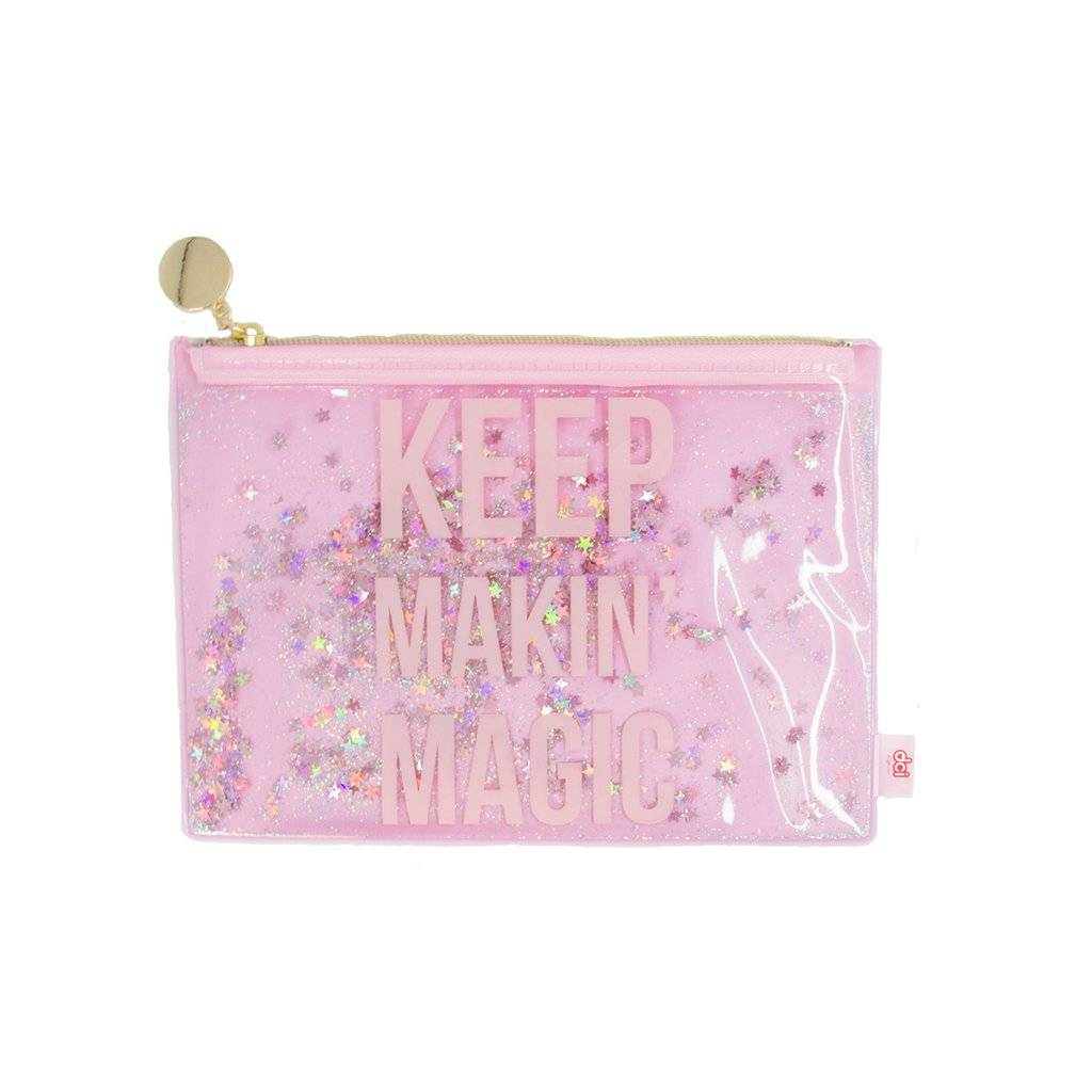 DCI (Decor Craft Inc.) Keep Makin' Magic - Glitter Pouch