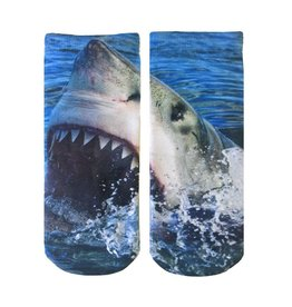 Living Royal Shark Ankle Socks