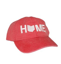 Be Ohio Proud Home Cotton Twill Hat - Red