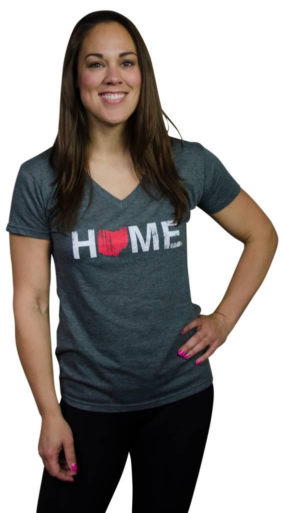 Home Ohio V-Neck T-Shirt