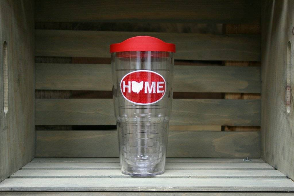 HOME Ohio Tervis - Red and White