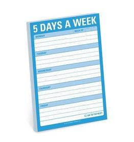 Knock Knock 5 Days a Week - Great Big Stickies DNR