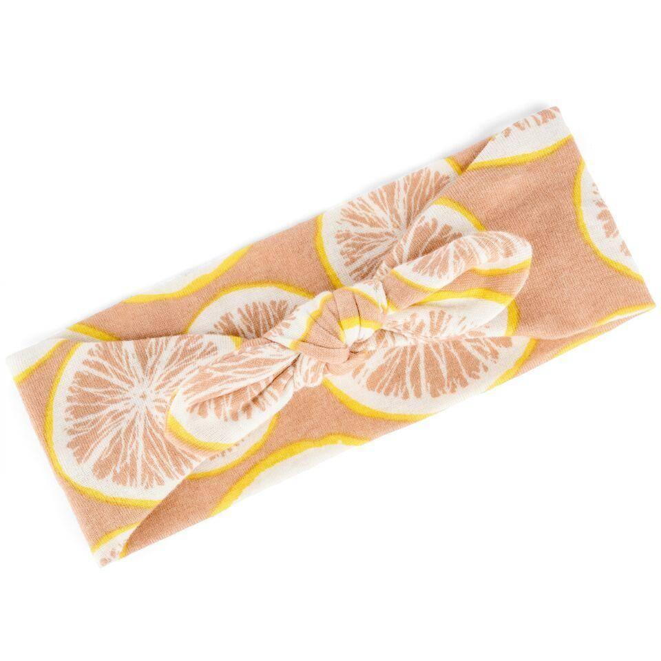 Milkbarn Grapefruit Toddler Headband