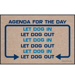 High Cotton* Agenda for the Day - Doormat