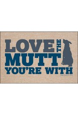 HIgh Cotton Love The Mutt You're With - Doormat