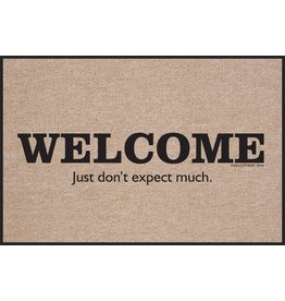 High Cotton* Don't Expect Much - Doormat