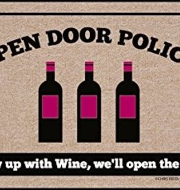 HIgh Cotton Open Door Policy - Doormat