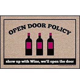 High Cotton* Open Door Policy - Doormat