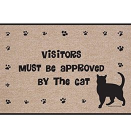 HIgh Cotton Visitors Must Be Approved - Doormat