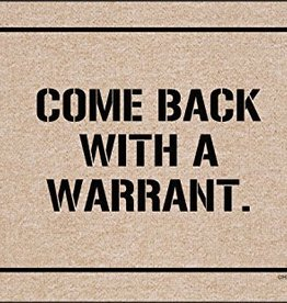 HIgh Cotton Come Back With Warrant - Doormat