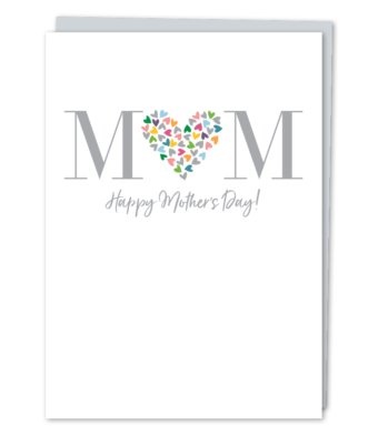 Design With Heart Happy Mothers Day - Card /S