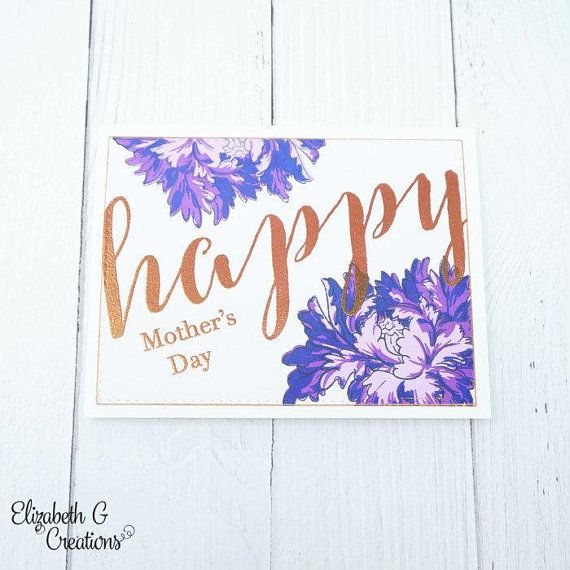 Mother's Day - Purple Flower