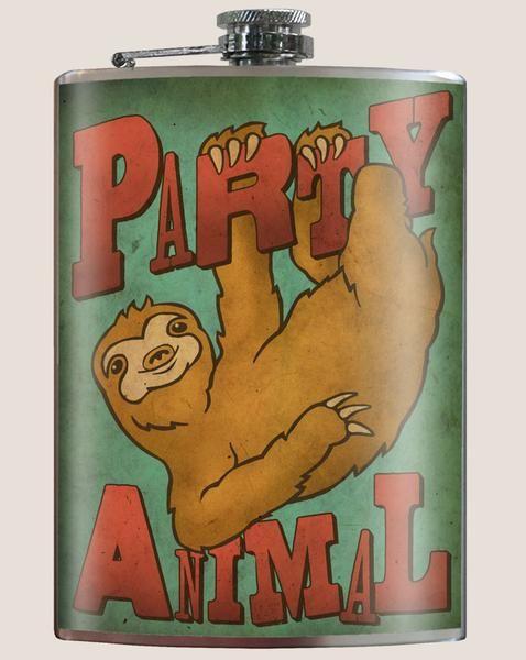 Trixie & Milo Party Animal - Flask