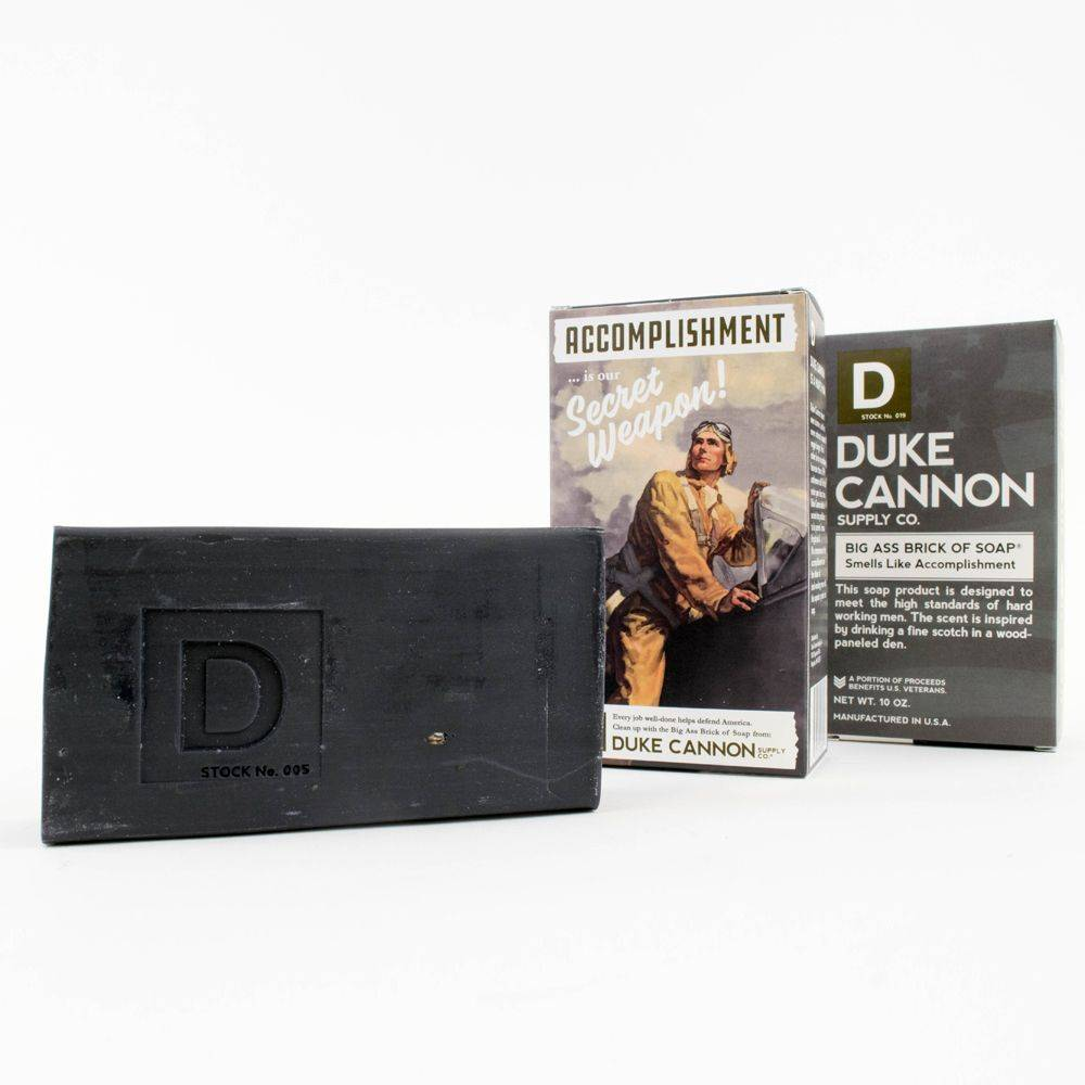 Duke Cannon Supply Smells Like Accomplishment Soap