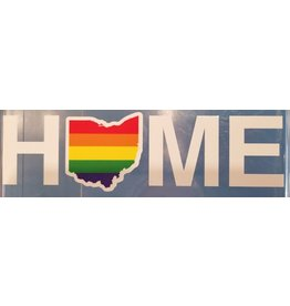 Be Ohio Proud Rainbow Home Ohio Sticker