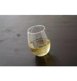 Uncommon Green* Hometown Maps Columbus - Stemless Wine Glass