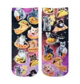 Living Royal Cat Cravings Ankle Socks
