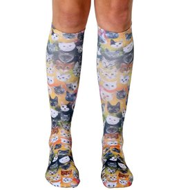 Living Royal Galaxy Kitty Knee High Socks