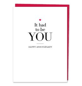 Design With Heart It Had to Be You  - Card Anniversary