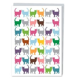 Design With Heart Cats Meow! - Card