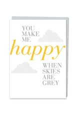 Design With Heart When Skies Are Grey  - Card Enouragement DNR