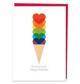 Design With Heart You're So Cool - Card Birthday DNR
