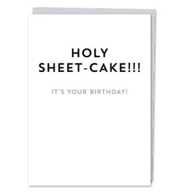 Design With Heart Holy Sheet-Cake - Card Birthday