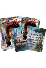 NMR Distribution Bob Ross Quotes Playing Cards