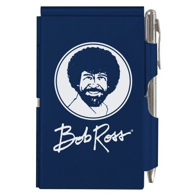 Wellspring Bob Ross - Blue Flip Note